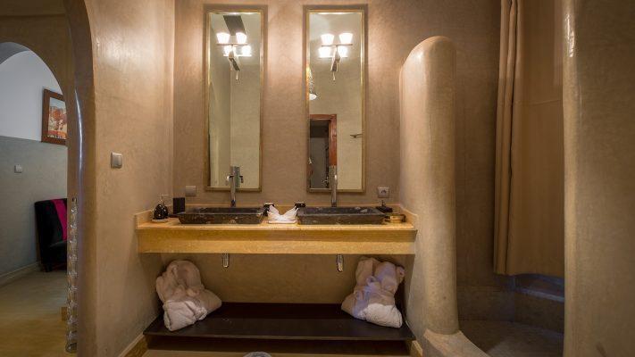 Villa maison d'hôtes à Marrakech chambre